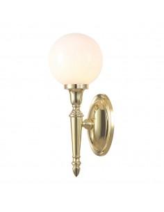 Dryden kinkiet łazienkowy złoty kula IP44 BATH-DRYDEN4-PB - Elstead Lighting