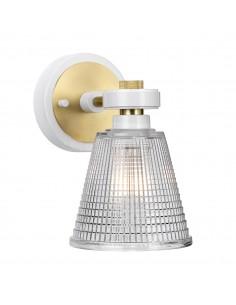 Gunnislake kinkiet łazienkowy 1 punktowy mosiądz BATH-GUNNIS1-WAB - Elstead Lighting