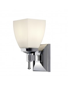 Shirebrook kinkiet łazienkowy chrom IP44 BATH-SB1 - Elstead Lighting