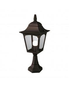 Chapel lampa stojąca zewnętrzna IP44 1 punktowa czarna CP4-BLACK - Elstead Lighting