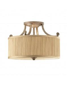Abbey lampa sufitowa beżowa FE-ABBEY-SF - Feiss