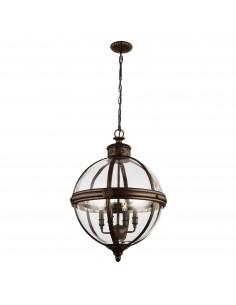Adams lampa wisząca brązowa 4 punktowa FE-ADAMS-4P-BRZ - Feiss