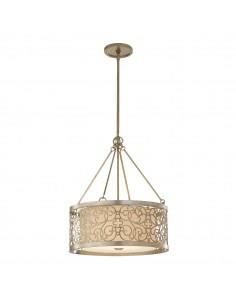 Arabesque lampa wisząca 4 punktowa beżowa FE-ARABESQUE4 - Feiss