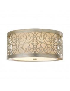 Arabesque lampa sufitowa 2 punktowa beżowa FE-ARABESQUE-F - Feiss