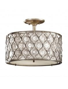 Lucia lampa sufitowa kryształowa srebrna FE-LUCIA-SF - Feiss