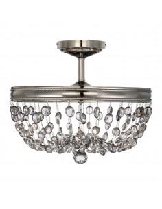 Malia lampa sufitowa kryształowa 3 punktowa FE-MALIA-SF - Feiss