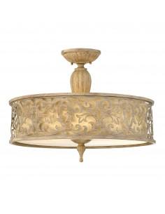 Carabel lampa sufitowa złota HK-CARABEL-SF-L - Hinkley