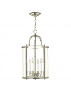 Gentry lampa wisząca 6 chrom HK-GENTRY-P-L-PN - Hinkley