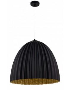 Telma lampa wisząca 1 punktowa czarno złota 32027 - Sigma