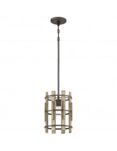 Wood Hollow Mini lampa wisząca QZ-WOOD-HOLLOW-MP - Quoizel