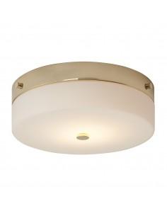 Tamar plafon złoty okrągły 29 TAMAR-F-L-PG - Elstead Lighting