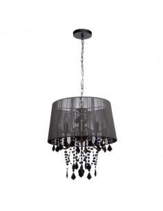Lampa wisząca Mona 3 czarna...