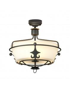 Windsor lampa sufitowa 3 punktowa grafitowa WINDSOR-SF-GR - Elstead Lighting