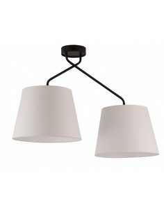 Lizbona lampa sufitowa 2 punktowa biała 32117 - Sigma