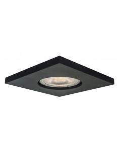 Lagos oczko podtynkowe kwadratowe czarne IP65 - Light Prestige