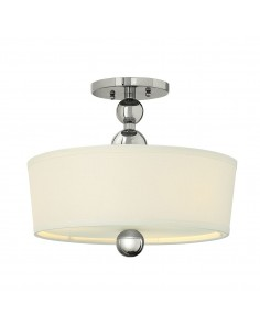 Zelda lampa sufitowa 3 punktowa chrom HK-ZELDA-SF-PN - Hinkley