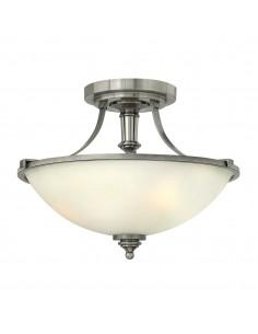Truman lampa sufitowa 3 punktowa chrom HK-TRUMAN-SF - Hinkley