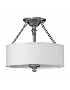 Sussex lampa sufitowa 3 punktowa chrom HK-SUSSEX-SF - Hinkley