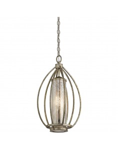 Rosalie lampa wisząca złota 1 punktowa KL-ROSALIE-P - Kichler