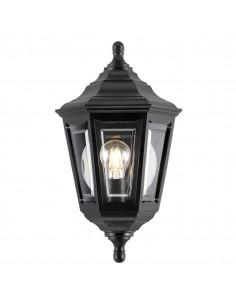 Kinsale kinkiet ogrodowy czarny IP44 KINSALE-FLUSH - Elstead Lighting