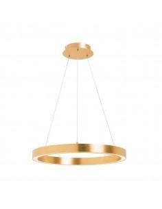 Lampa wisząca LED ring złota Carlo circle PL200910-400-GD - Zuma Line