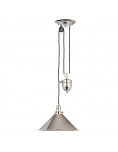 Provence lampa wisząca 1 punktowa nikiel PV-P-PN - Elstead Lighting
