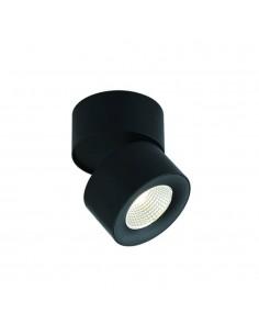 Oprawa natynkowa regulowana LED Mone nero tuba czarna - Orlicki Design