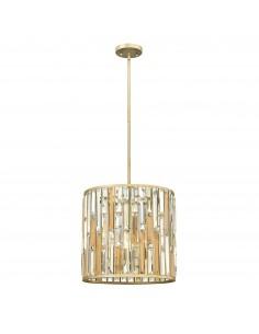 Gemma kryształowa lampa wisząca srebrna HK-GEMMA-P-B-SL - Hinkley