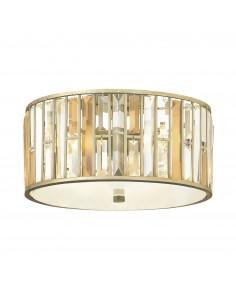 Gemma lampa sufitowa kryształowa srebrna HK-GEMMA-F-SL - Hinkley