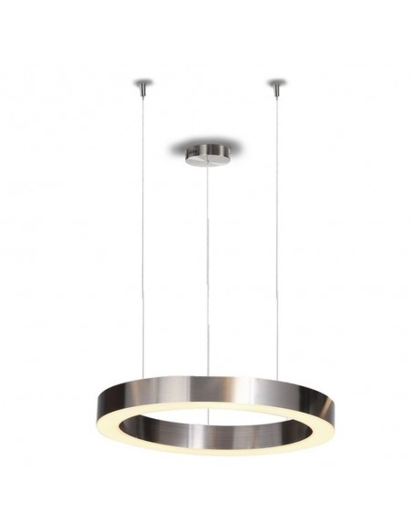 Pendant lamp CIRCLE 40 LED brushed nickel  - Step Into Design