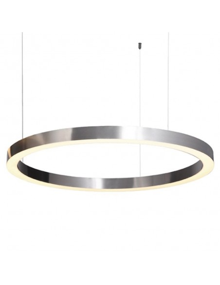 Pendant lamp CIRCLE 80 LED brushed nickel - Step Into Design