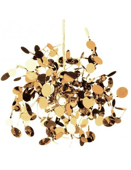 Lampa wisząca Monetti złota nowoczesna ST-1676 GOLD - Step Into Design