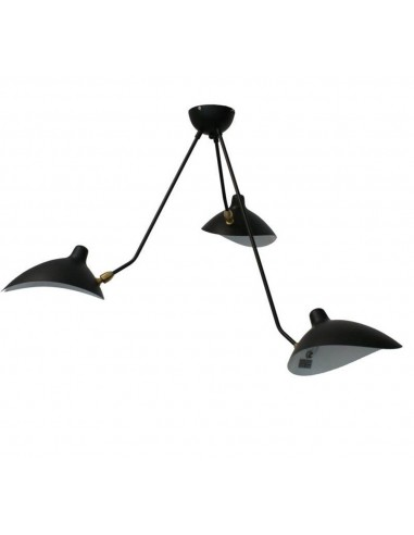 Lampa sufitowa Crane 3P czarna P8703 - Step Into Design