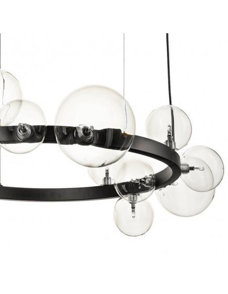 Pendant lamp ORION black 85 cm  - Step Into Design