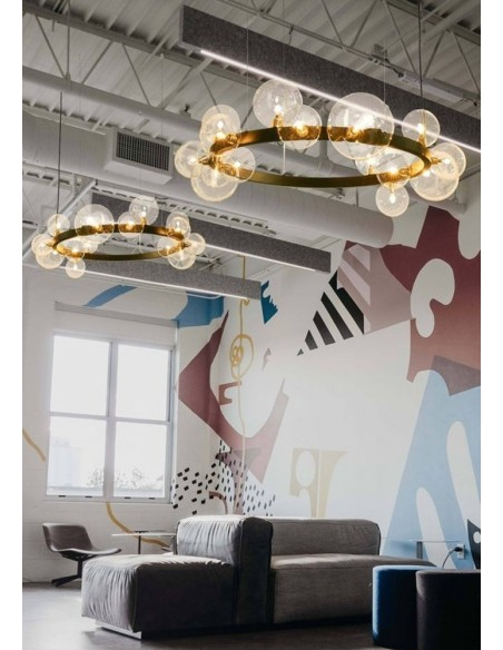 Pendant lamp ORION black 85 cm  - Step Into Design