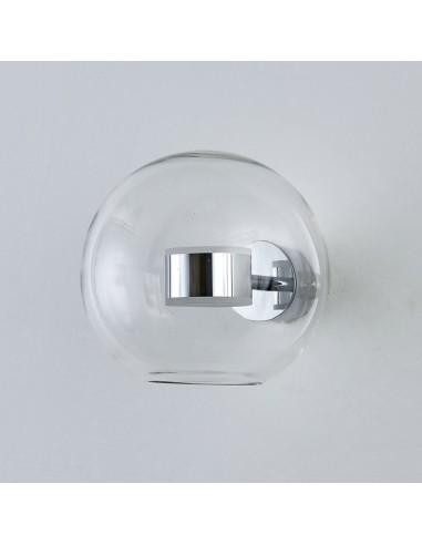 Kinkiet LED Bubbles-1 chrom kula ST-0801W chrome - Step Into Design