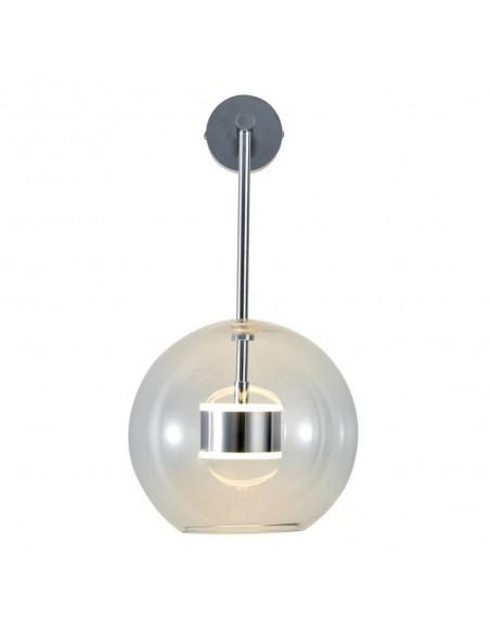 Wall lamp BUBBLES-1 LED transparent - chrome - Step Into Design
