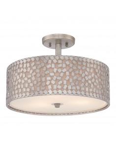 Confetti lampa sufitowa srebrna QZ-CONFETTI-SF - Quoizel