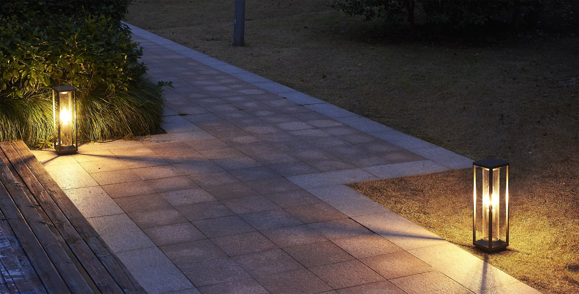 Lampa stojąca ogrodowa Porto M1932-500 Czarny IP65 - Su-ma